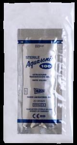Aquasonic 100 - Sterile Single Use - Overwrapped Foil Pouch