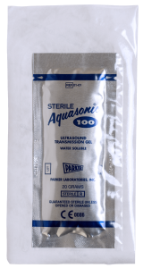 Aquasonic 100 - Sterile Single Use - Overwrapped Foil Pouch